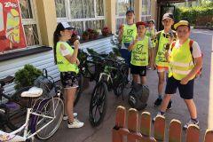 Wycieczka rowerowa kl. V do Serpelic
